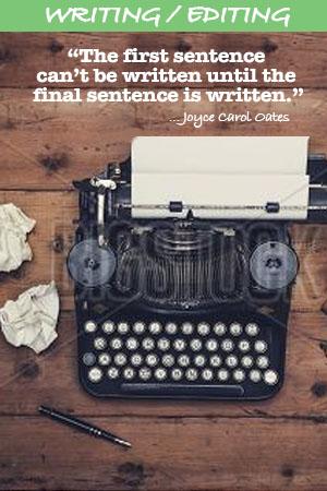 WRITING/EDITING