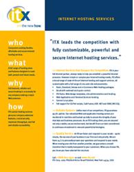 Fact Sheet – ITX