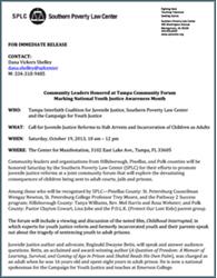 Press Release: SPLC